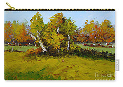 Meadow In Autumn Carry-all Pouch