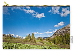 Carry-all Pouch featuring the photograph Meadow Of False Hellebore by Jeff Goulden