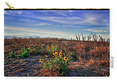 Carry-all Pouch featuring the photograph Meadow Of Wild Flowers by Eti Reid