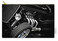 Classic Cars Carry-all Pouch featuring the photograph Mean Machine Classic by Aaron Berg