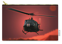 Medevac The Sound Of Hope Carry-all Pouch by Thomas Woolworth