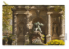 Medici Fountain - Paris Carry-all Pouch by Brian Jannsen