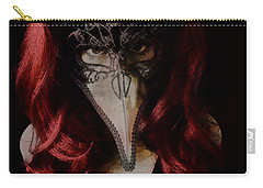 Carry-all Pouch featuring the digital art Medico Della Peste by Galen Valle