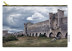 Medieval City Wall Defence Carry-all Pouch