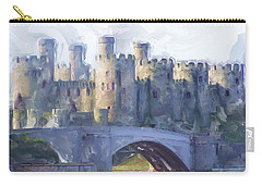 Medieval Conwy Castle.  Carry-all Pouch