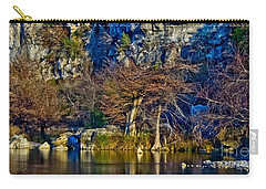 Medina River At Comanche Cliffs Carry-all Pouch