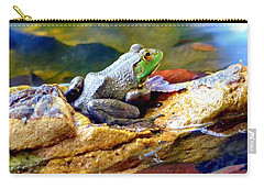 Carry-all Pouch featuring the photograph Meditation by Deena Stoddard