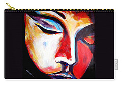 Carry-all Pouch featuring the painting Meditation by Helena Wierzbicki