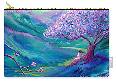 Meditation In Mauve Carry-all Pouch