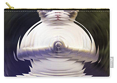 Meditation Kitty Carry-all Pouch