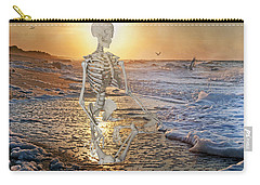 Meditative Morning Carry-all Pouch by Betsy Knapp
