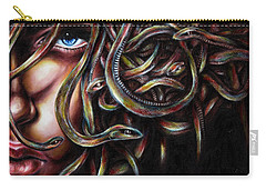 Medusa No. Two Carry-all Pouch by Hiroko Sakai