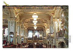 Meet Me For Coffee - New York Cafe - Budapest Carry-all Pouch by Lucinda Walter