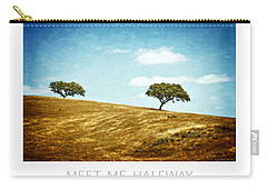 Meet Me Halfway - Poster Carry-all Pouch by Mary Machare