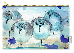 Meet The Sanderlings Carry-all Pouch by Dawn Derman