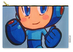 Mega Man Carry-all Pouch by Marisela Mungia