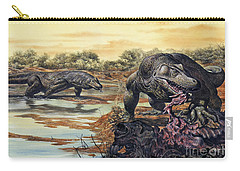 Megalania Giant Monitor Lizard Eating Carry-all Pouch