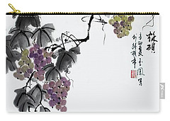 Carry-all Pouch featuring the painting Melody Of Life II by Yufeng Wang