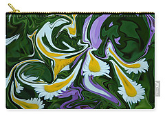 Carry-all Pouch featuring the photograph Melting Daisies by Aimee L Maher Photography and Art Visit ALMGallerydotcom