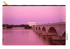 Memorial Bridge, Washington Dc Carry-all Pouch by Panoramic Images