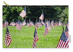 Carry-all Pouch featuring the photograph Memorial Day by Ed Weidman