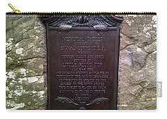 Memorial Tablet To Signal Corps U.s.a. Carry-all Pouch