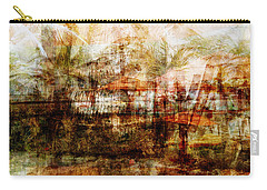 Carry-all Pouch featuring the mixed media Memories #1 by Sandy MacGowan