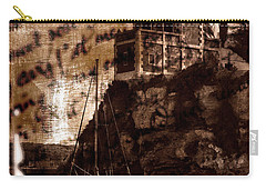Carry-all Pouch featuring the photograph Memories By The Sea by Pedro Cardona