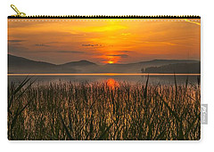 Carry-all Pouch featuring the photograph Peace Of Mind by Rose-Maries Pictures