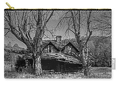 Carry-all Pouch featuring the photograph Memories Of Ages Past B W by HH Photography of Florida