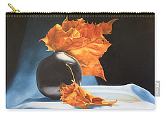 Memories Of Fall - Oil Painting Carry-all Pouch