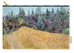 Mendocino High Grass Meadow At Susan's Place In July Carry-all Pouch