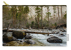 Merced River From Happy Isles 2 Carry-all Pouch by Terry Garvin