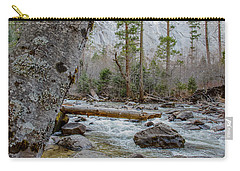 Merced River From Happy Isles Carry-all Pouch by Terry Garvin