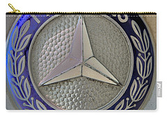 Mercedes Benz Badge Blue Carry-all Pouch