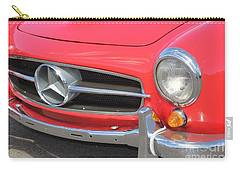 Carry-all Pouch featuring the photograph Mercedes Benz Vintage by The Art of Alice Terrill
