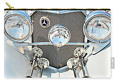 Vintage Car Carry-all Pouch featuring the photograph Mercedes Of Old  by Aaron Berg