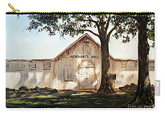 Carry-all Pouch featuring the painting Merchants Hall by Lee Piper