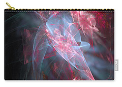 Carry-all Pouch featuring the digital art Mercy And Truth Have Met Together Righteousness And Peace Have Kissed by Margie Chapman