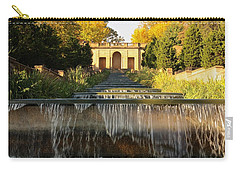 Meridian Hill Park Waterfall Carry-all Pouch by Stuart Litoff