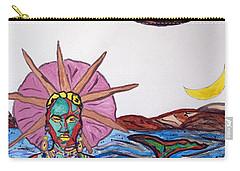 Yemoja Ufo  Carry-all Pouch by Stormm Bradshaw