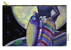 Mermaid Mother Carry-all Pouch by Carol Jacobs