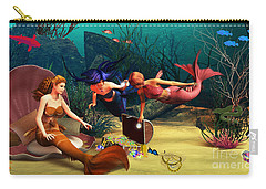Mermaid Treasures Carry-all Pouch