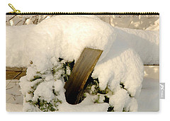 Carry-all Pouch featuring the photograph Merry Christmas by Alana Ranney