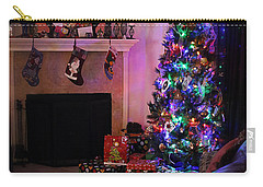 Carry-all Pouch featuring the photograph Merry Christmas From My Home To Yours by Trish Mistric
