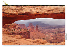 Mesa Arch In Canyonlands National Park Carry-all Pouch