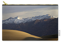 Mesquite Dunes And Grapevine Range Carry-all Pouch by Joe Schofield