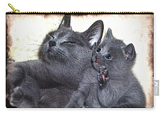 Mess With My Ma I'll Scratch Your Eyes Out Carry-all Pouch by Richard Thomas
