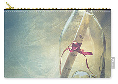 Message In A Bottle Carry-all Pouch by Jan Bickerton