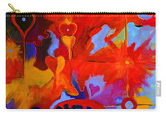 Message Of Love Carry-all Pouch by Alison Caltrider